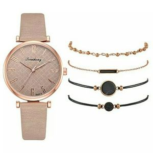Accessories - Leather Watches For Women Simple Black Casual Dres